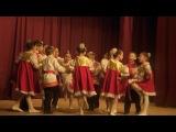 Анжелика, первый раз на сцене, танец